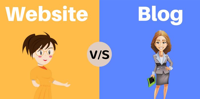 تفاوت وبسایت با وبلاگ
