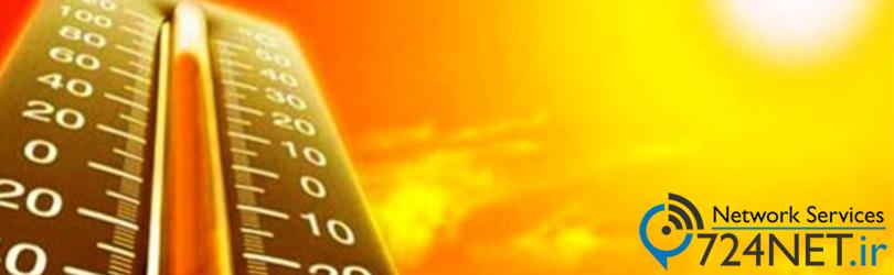 اثرات افزایش دما بر دوربین مداربسته